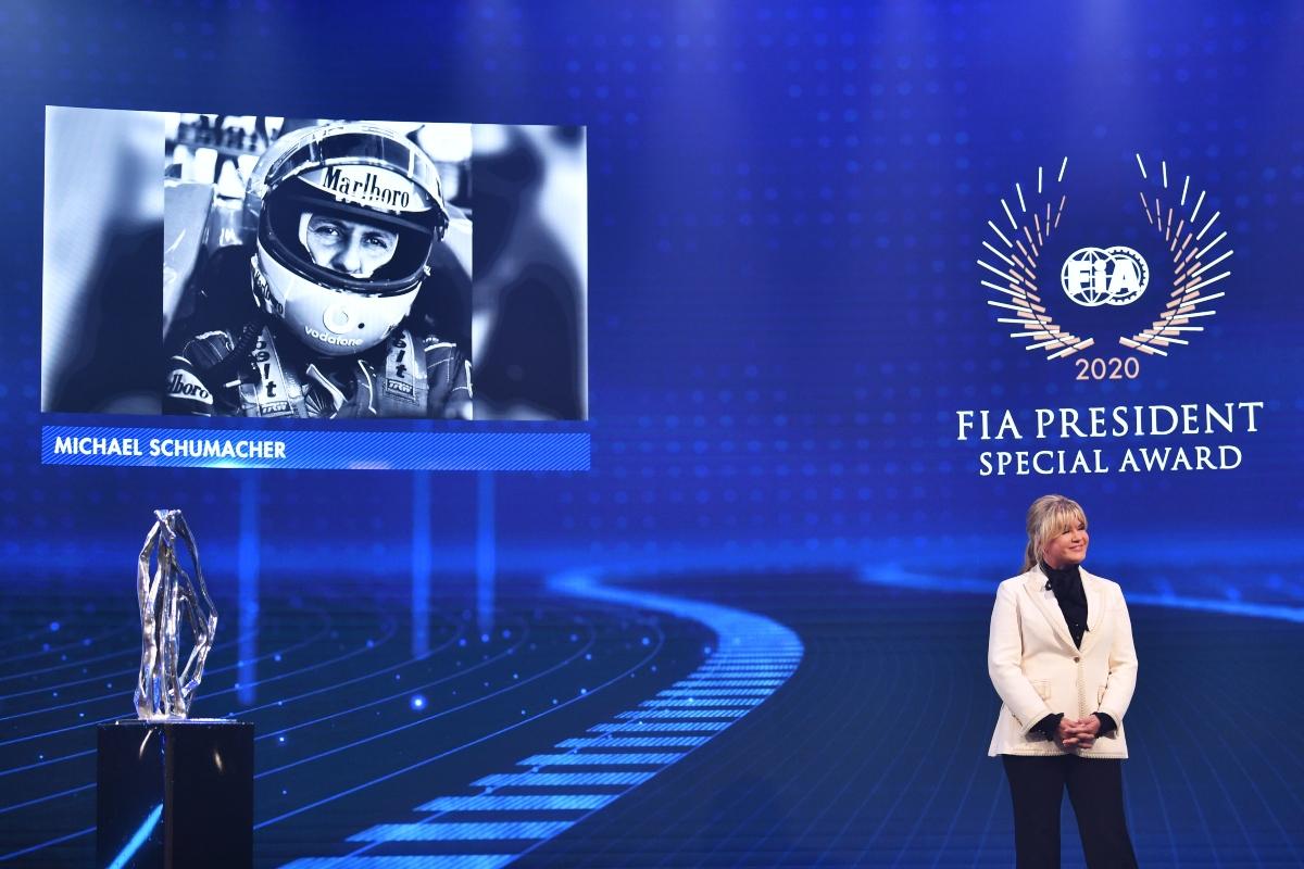 Corinna Betsch al Gran Gala FIA (Getty Images)