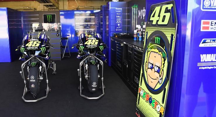 Le moto di Valentino Rossi (Getty Images)