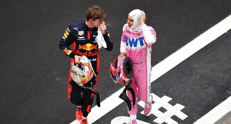 Max Verstappen e Sergio Perez (Getty Images)