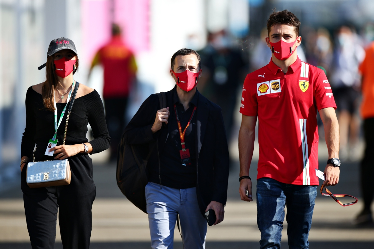 Nicolas Todt e Charles Leclerc (Getty Images)