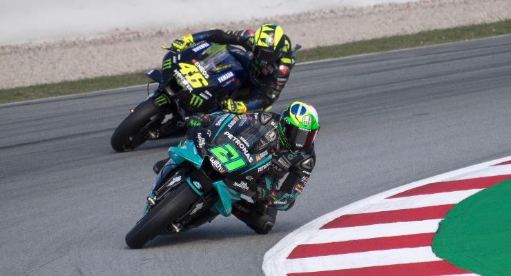 Valentino Rossi e Franco Morbidelli (Getty Images)