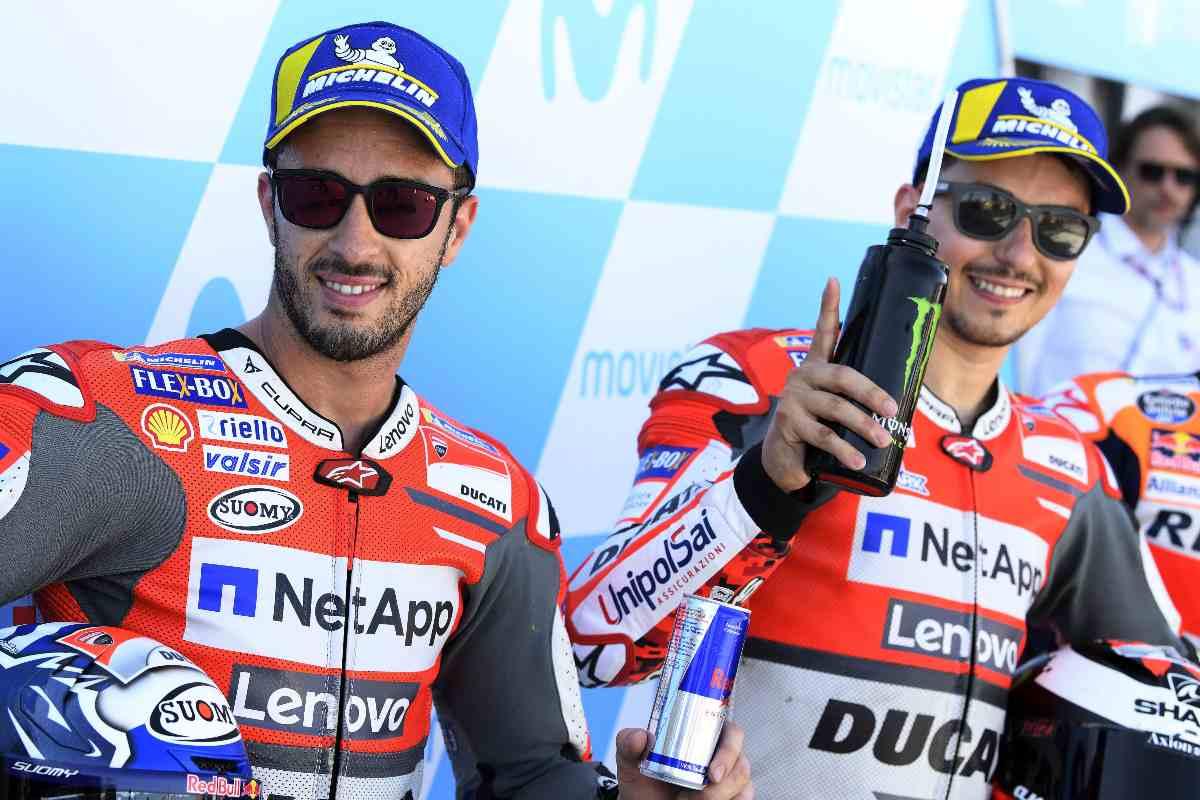 Andrea Dovizioso e Jorge Lorenzo