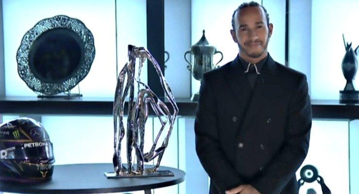 L'intervento di Lewis Hamilton al gala di premiazione della Fia