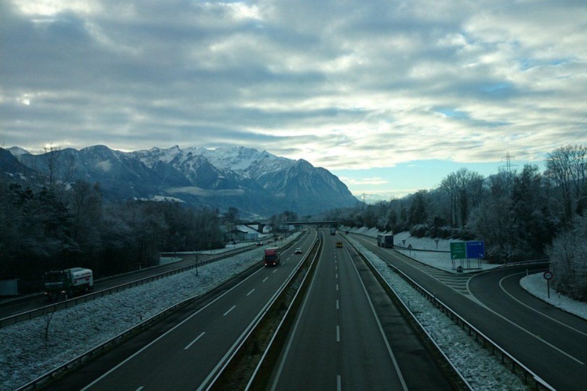 Neve in autostrada