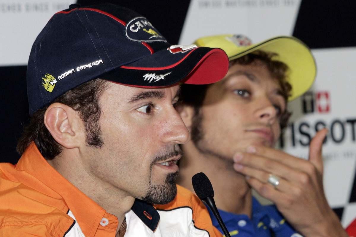 Max Biaggi e Valentino Rossi