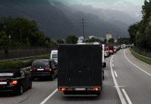 Traffico in autostrada