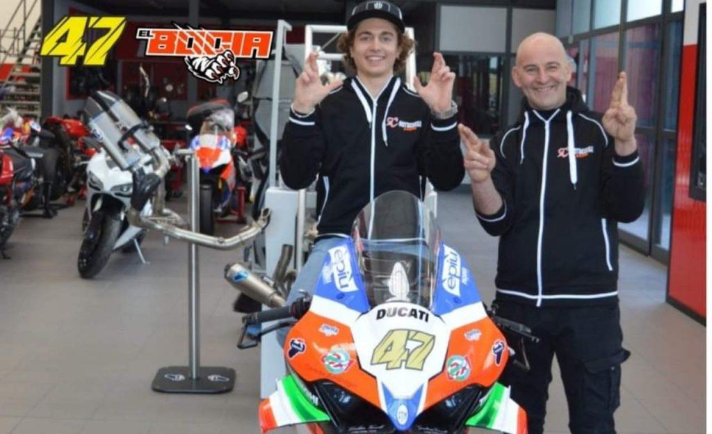 Axel Bassani team Motocorsa Ducati