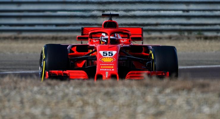 Carlos Sainz Jr. in Ferrari (Getty Images)