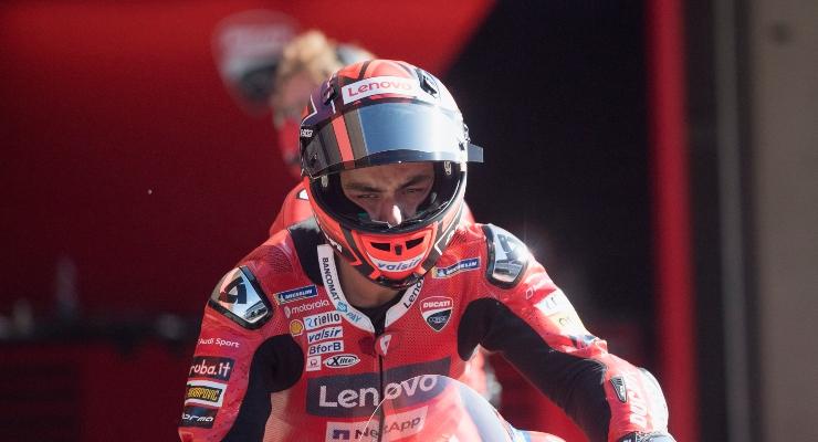 Danilo Petrucci in sella alla Ducati (Getty Images)
