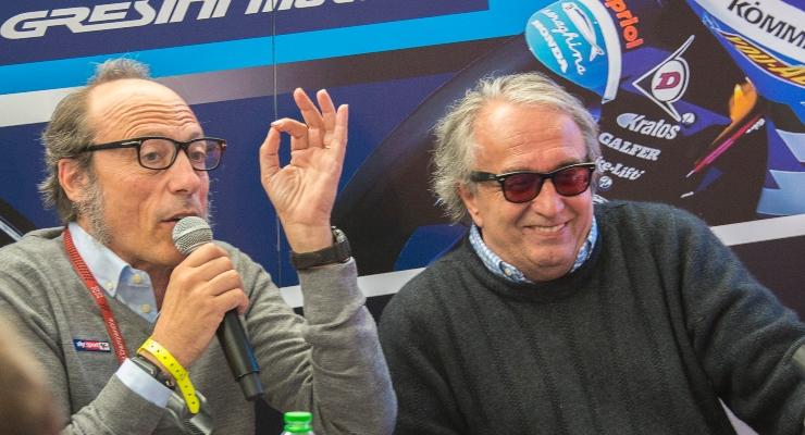 Guida Meda e Carlo Pernat (Getty Images)