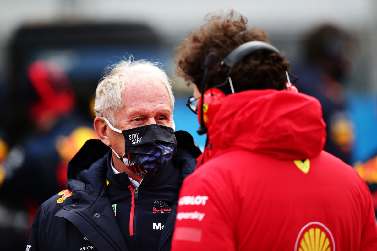 Helmut Marko e Mattia Binotto (Getty Images)