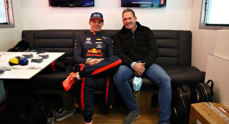 Jos e Max Verstappen (Getty Images)