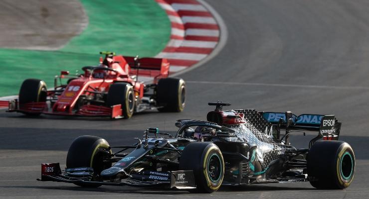 Leclerc e Hamilton (Getty Images)