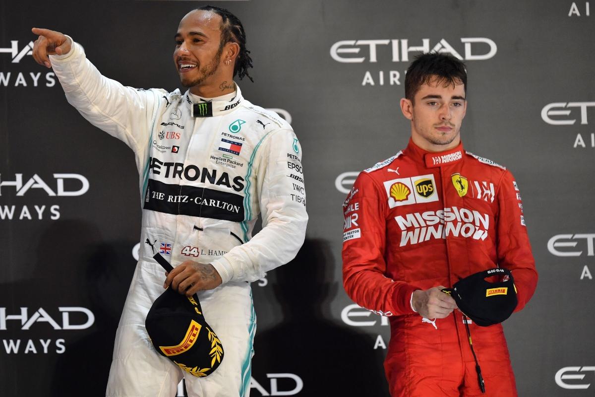 Lewis Hamilton e Charles Leclerc (Getty Images)