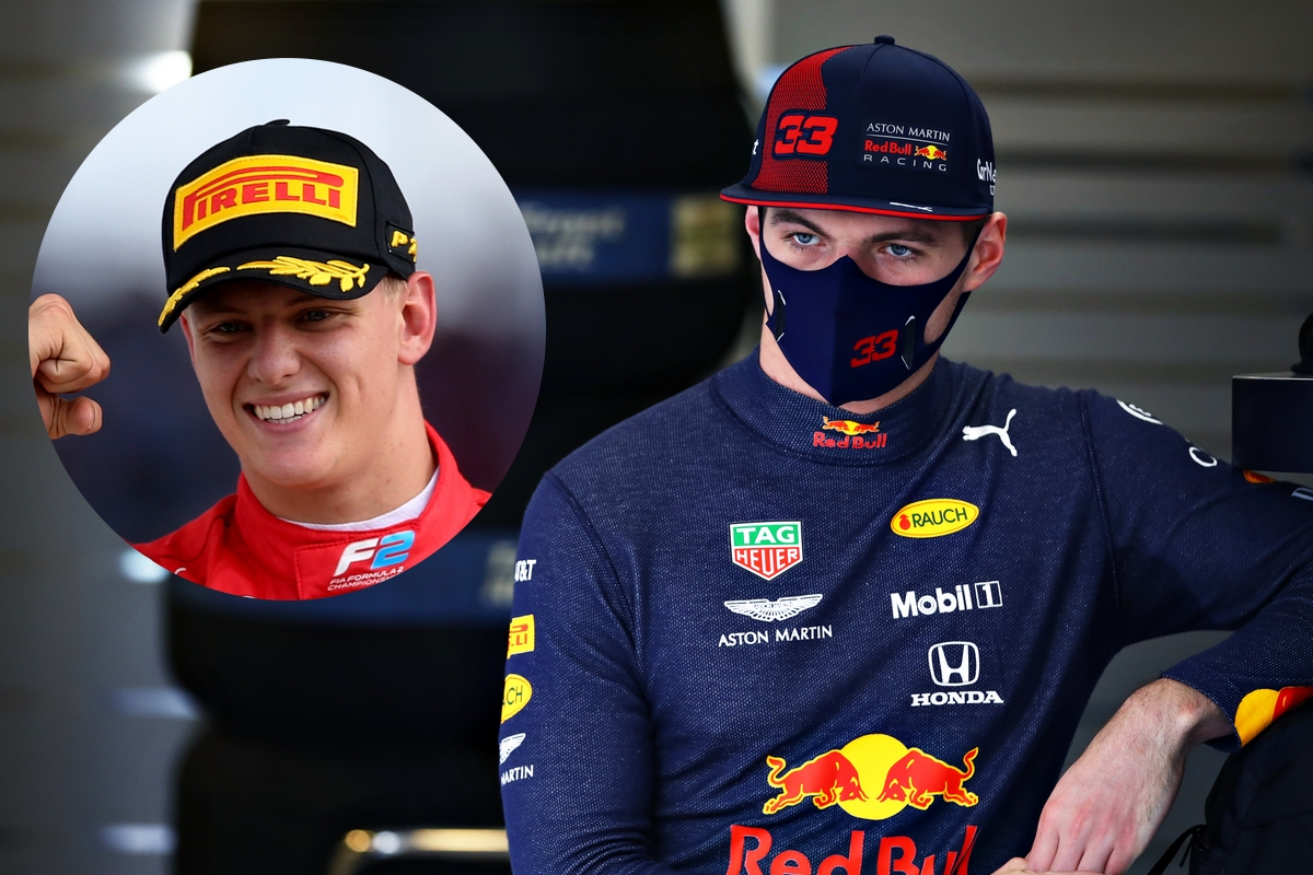 Max Verstappen e Mick Schumacher (Getty Images)