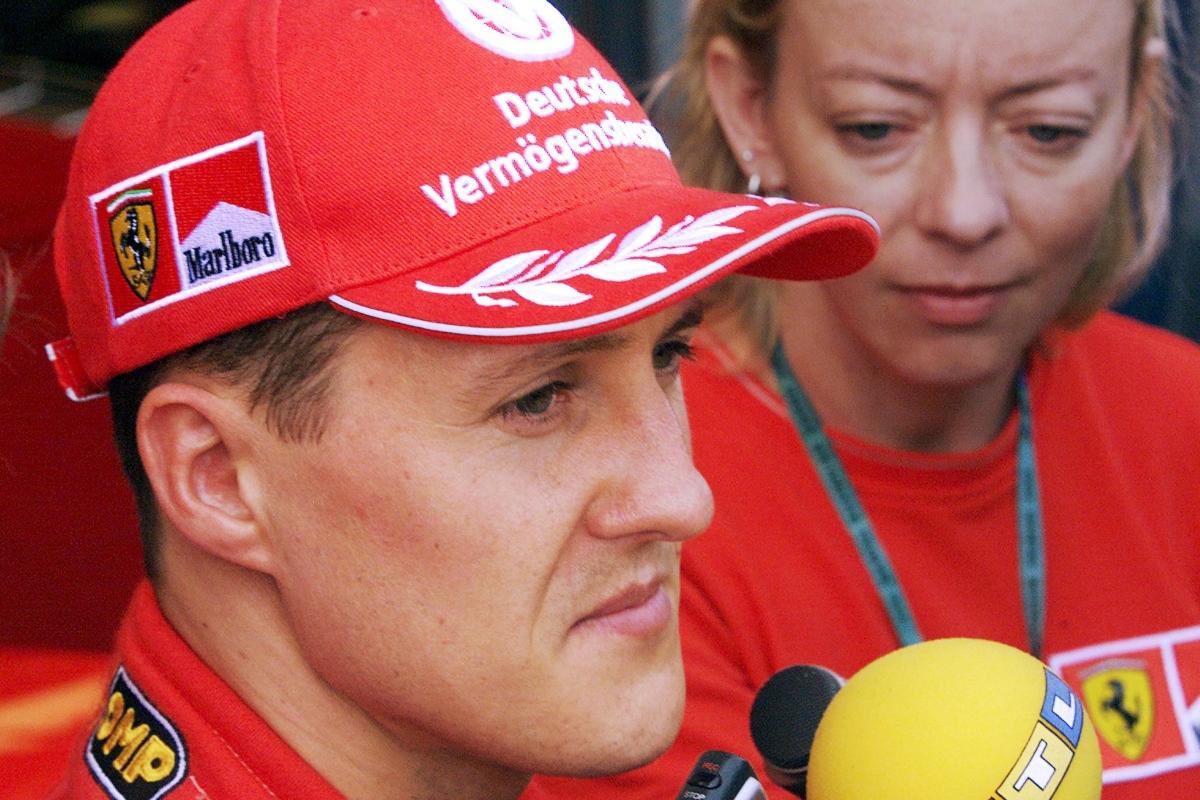 Michael Schumacher e Sabine Kehm (Getty Images)