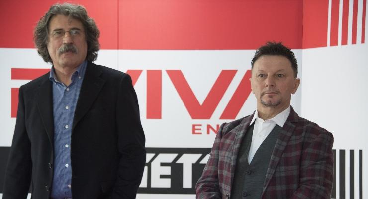 Paolo Simoncelli e Fausto Gresini (Getty Images)