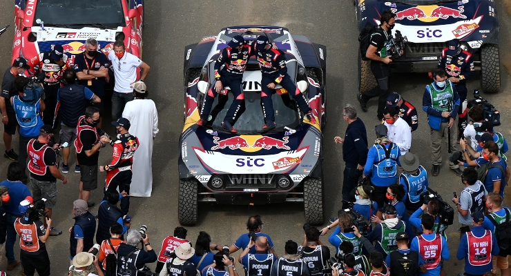 Stéphane Peterhansel vincitore della Dakar (Getty Images)