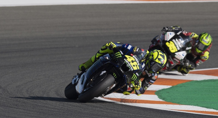 Valentino Rossi e Cal Crutchlow (Getty Images)