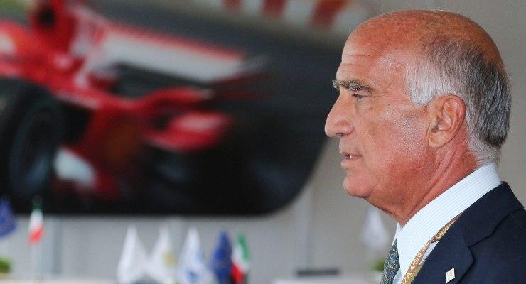 Il presidente dell'Automobile Club d'Italia, Angelo Sticchi Damiani