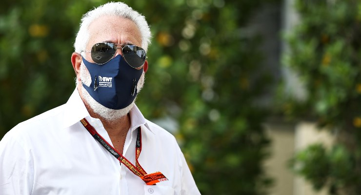 Il proprietario della Aston Martin, Lawrence Stroll