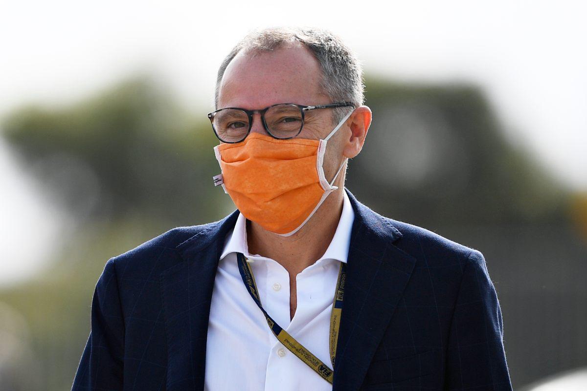 L'amministratore delegato della Formula 1, Stefano Domenicali