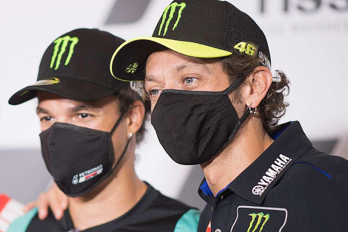 Franco Morbidelli e Valentino Rossi