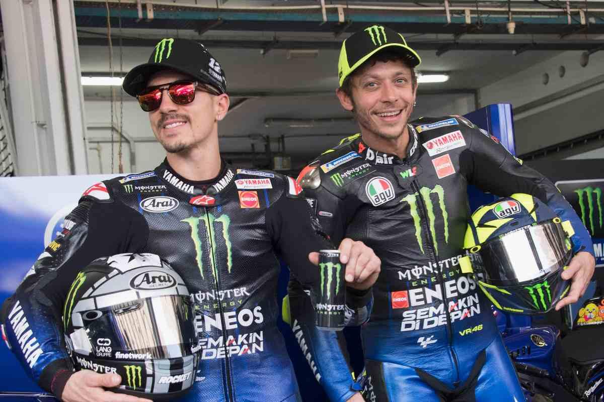 Maverick Vinales e Valentino Rossi