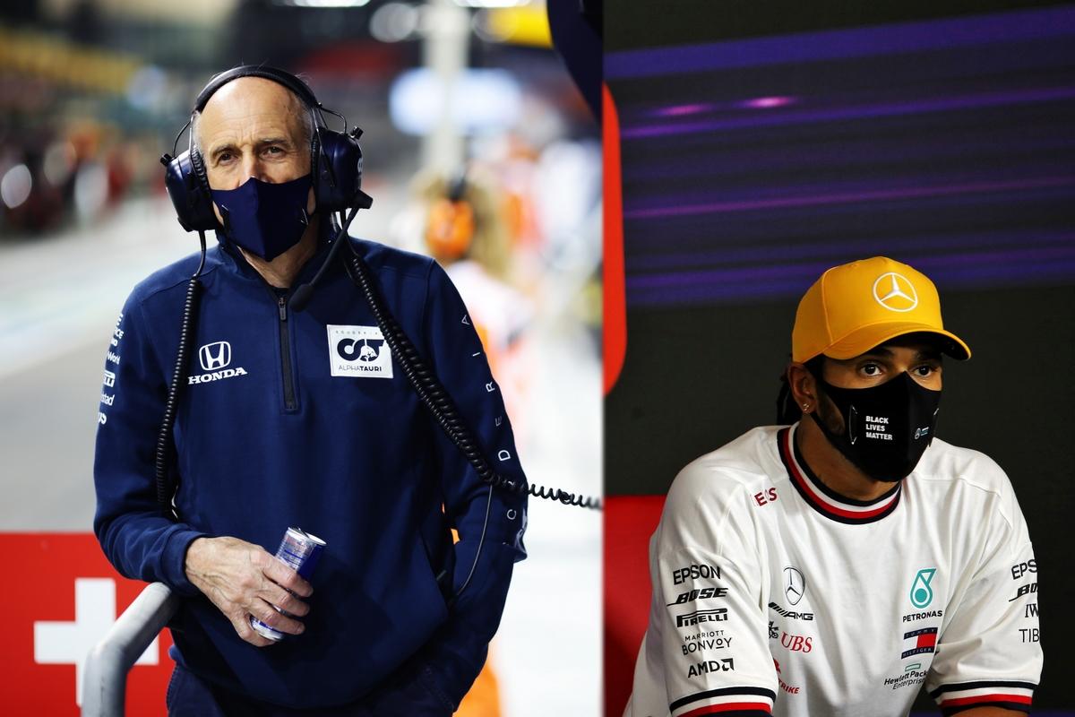 Franz Tost e Lewis Hamilton (Getty Images)