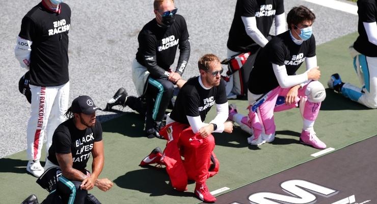 Hamilton, Vettel e Stroll (Getty Images)