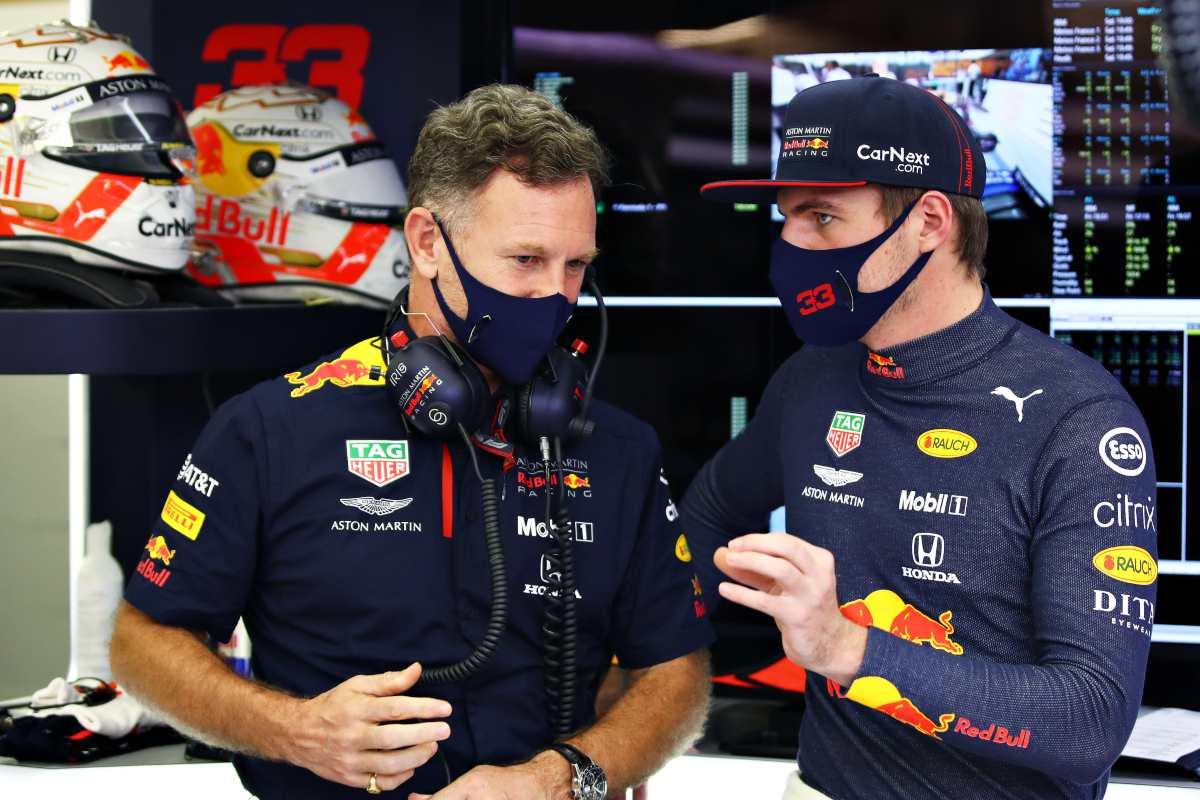 Horner e Verstappen (Getty Images)