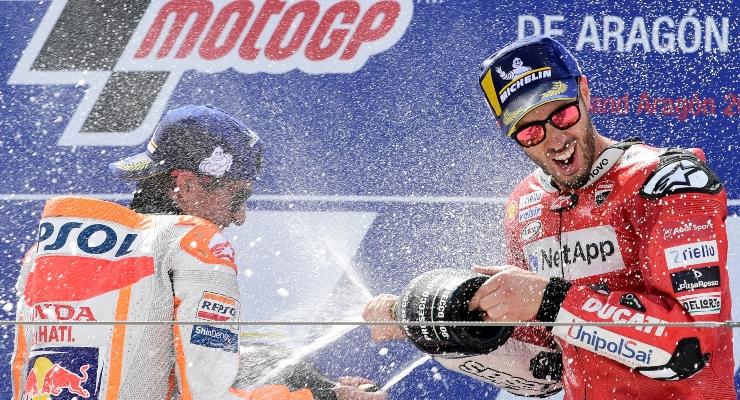 Marquez e Dovizioso (Getty Images)
