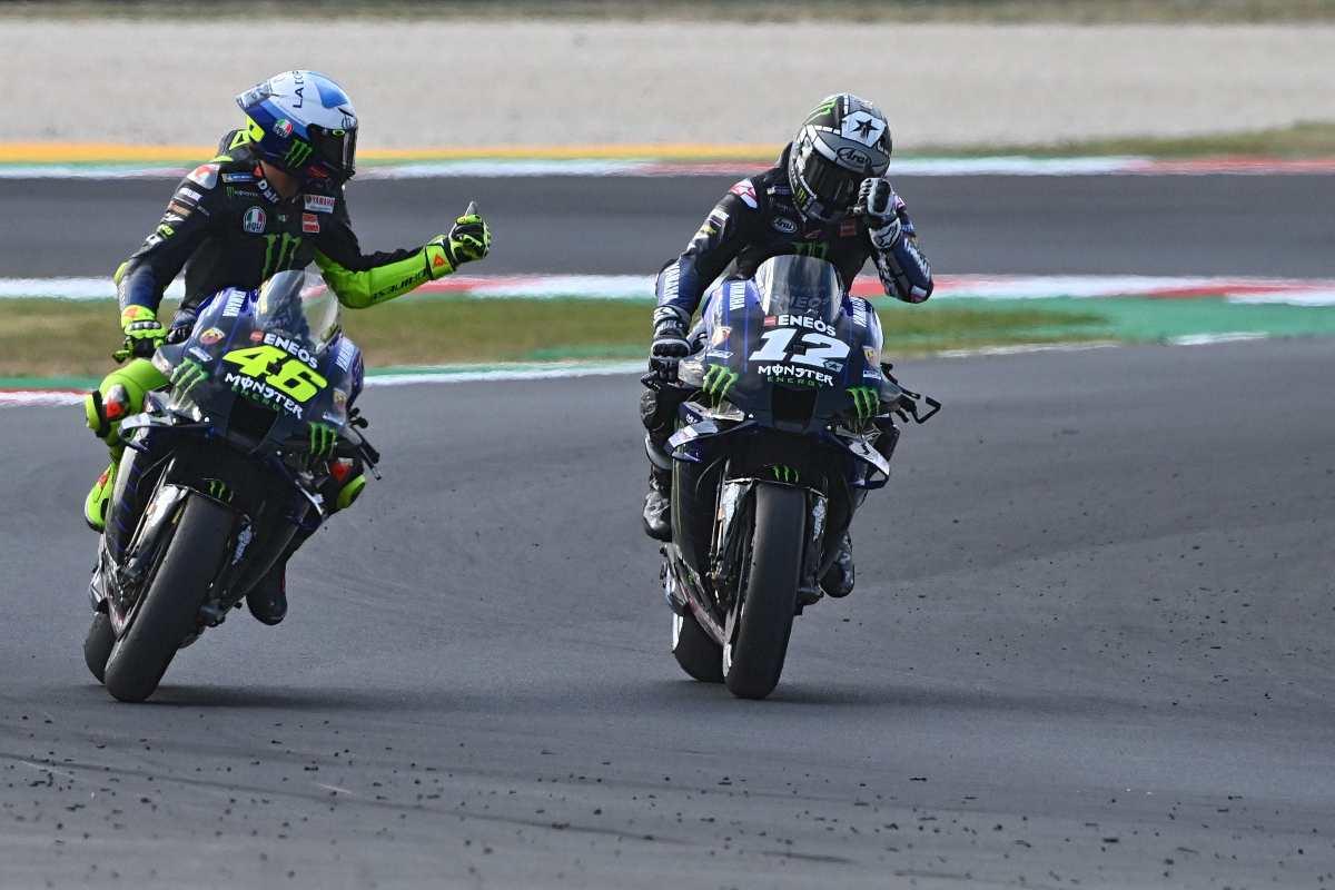 Valentino Rossi e Maverick Vinales (Getty Images)