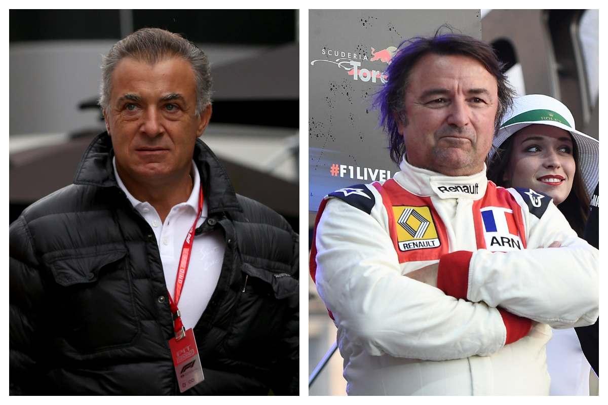 Jean Alesi e René Arnoux