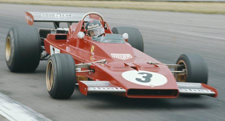 La Ferrari 312B3 nel 1973