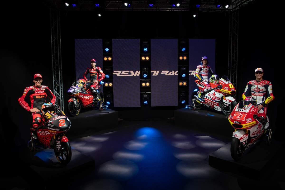 La presentazione del team di Moto3 e Moto2