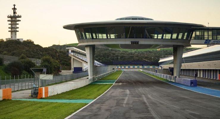 La pista di Jerez de la Frontera che ha ospitato i test di oggi