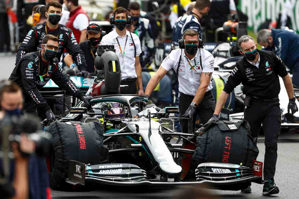 La Mercedes di Formula 1