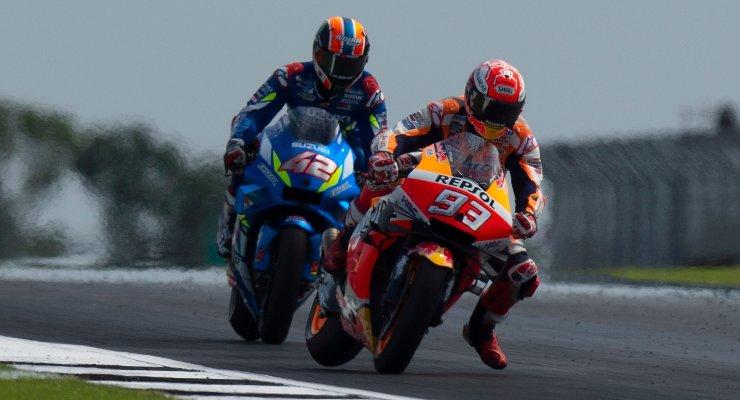 Marc Marquez e Alex Rins