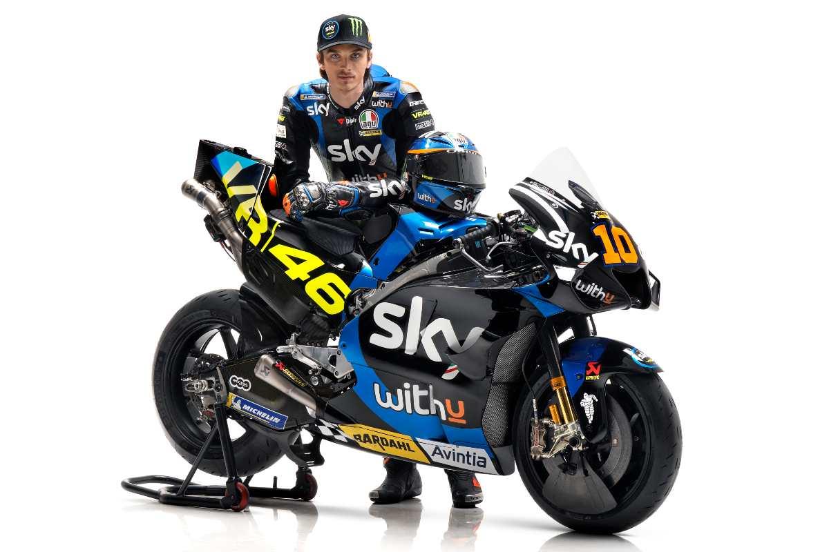 Luca Marini con la MotoGP per il 2021