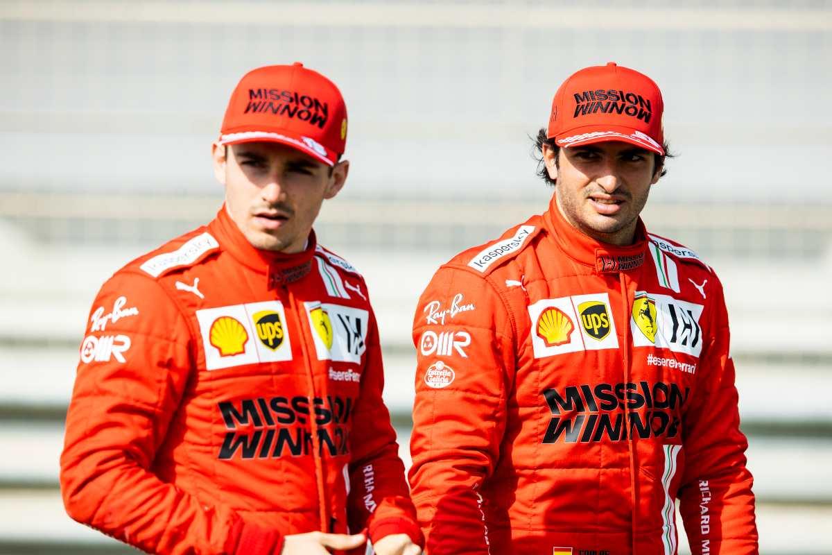 Charles Leclerc e Carlos Sainz (Getty Images)