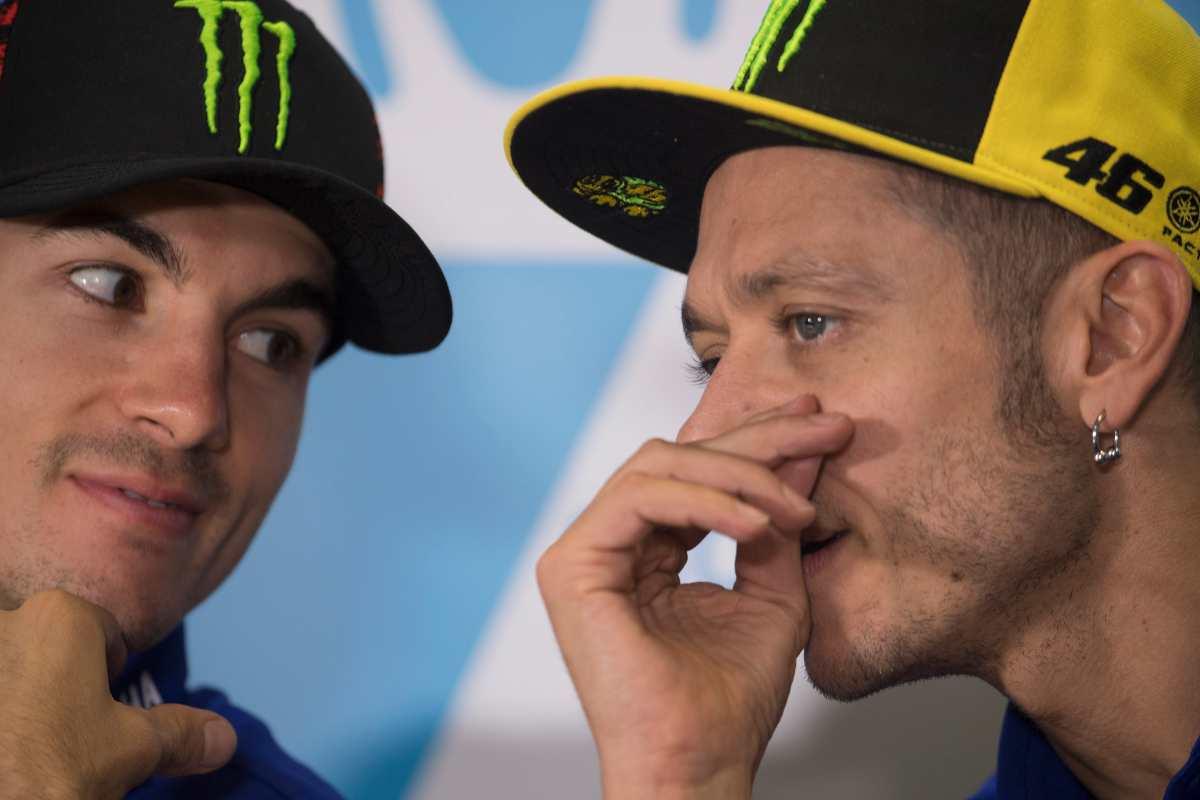 Maverick Vinales e Valentino Rossi (Getty Images)
