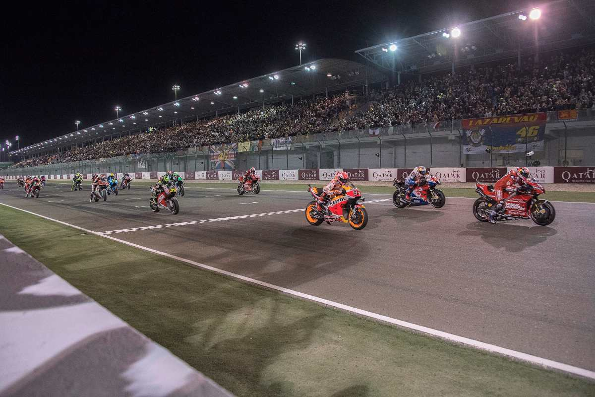 MotoGP - Qatar Circuit (Getty Images)