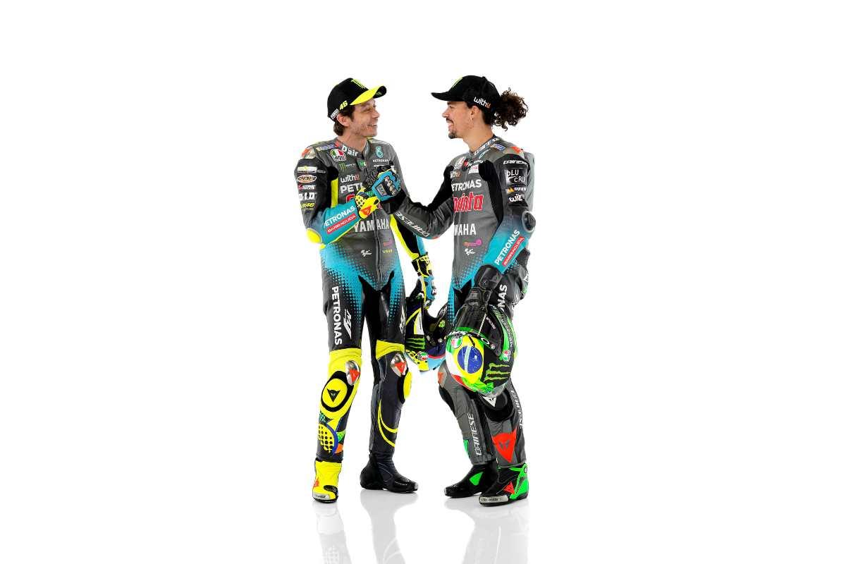 Valentino Rossi e Franco Morbidelli