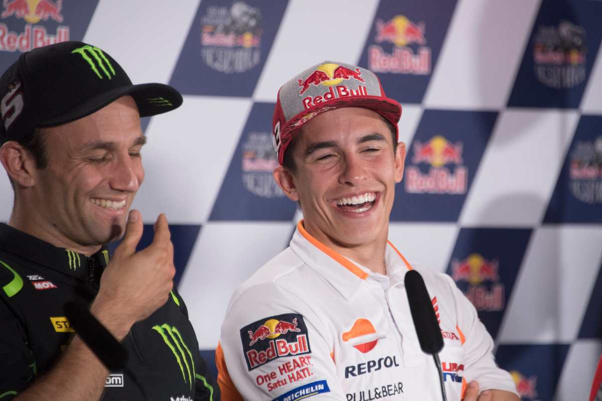 Zarco e Marc Marquez (Getty Images)