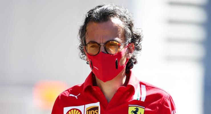 Il direttore sportivo della Ferrari, Laurent Mekies