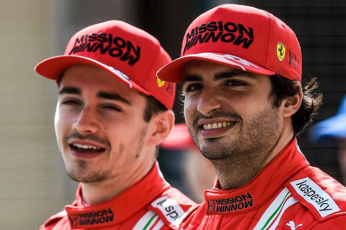 Charles Leclerc e Carlos Sainz
