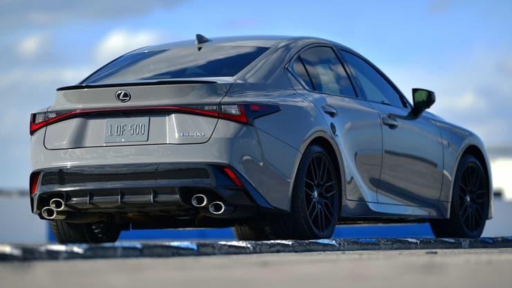 Lexus launch edition