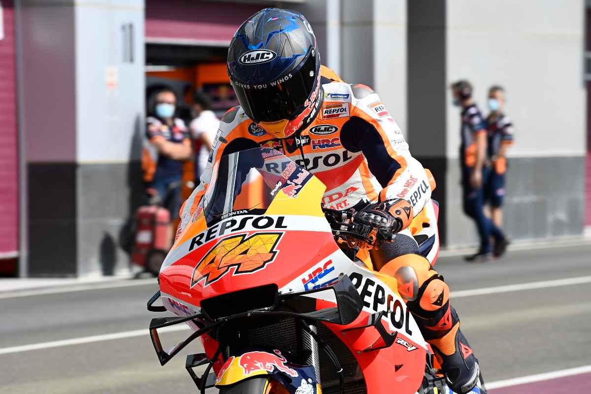 Pol Espargaro sulla Honda nei test MotoGP a Losail, in Qatar