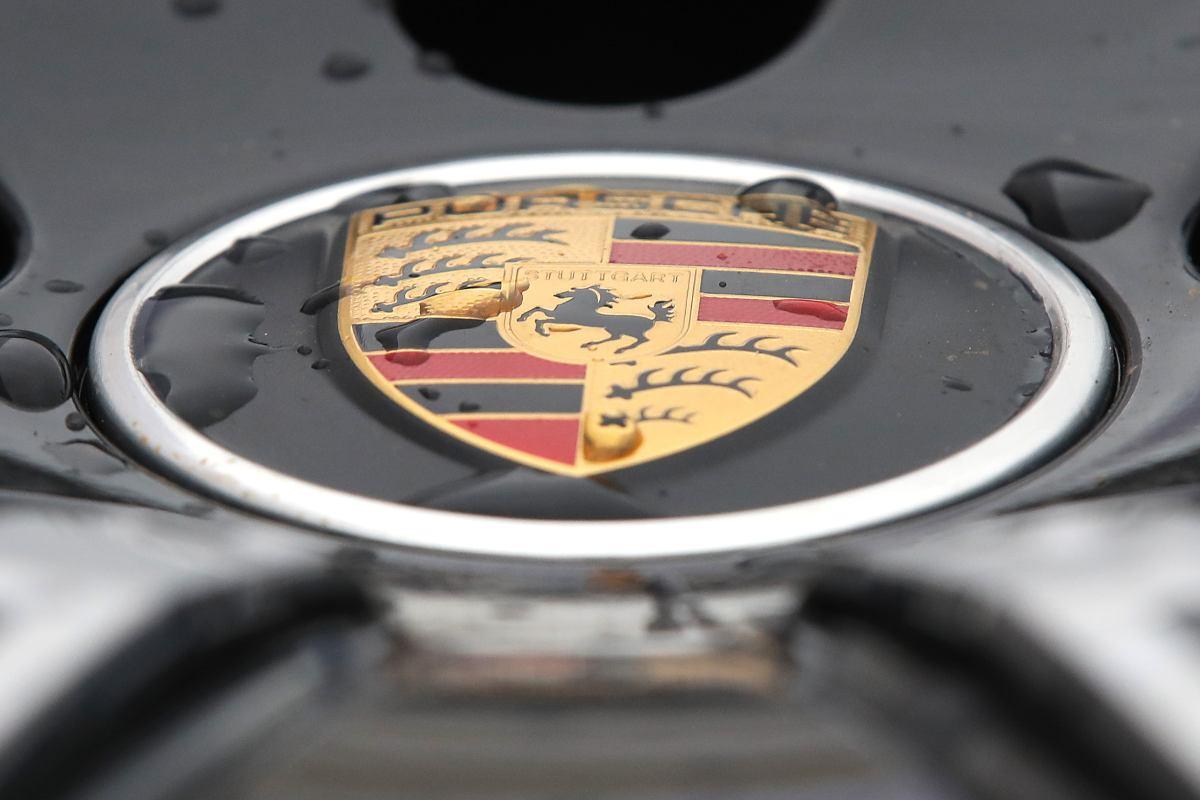 Il logo della Porsche